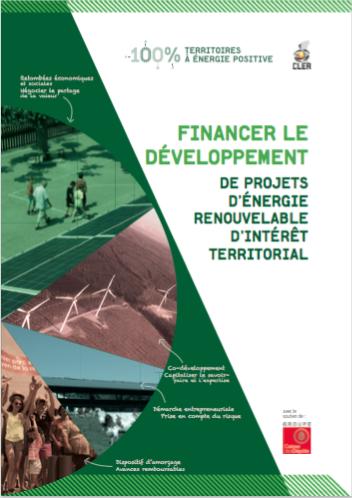 Financement du développement des projets d'énergie renouvelable d'intérêt territorial - CLER 2016