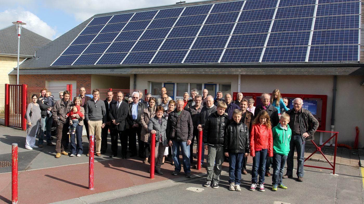 Citoyens, élus, acteurs locaux, associations, tous réunis autour du projet de Plaine Sud Energies