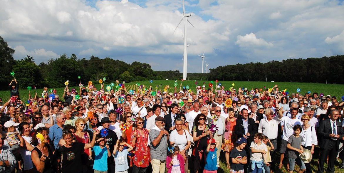 Inauguration Parc éolien de Bégawatts