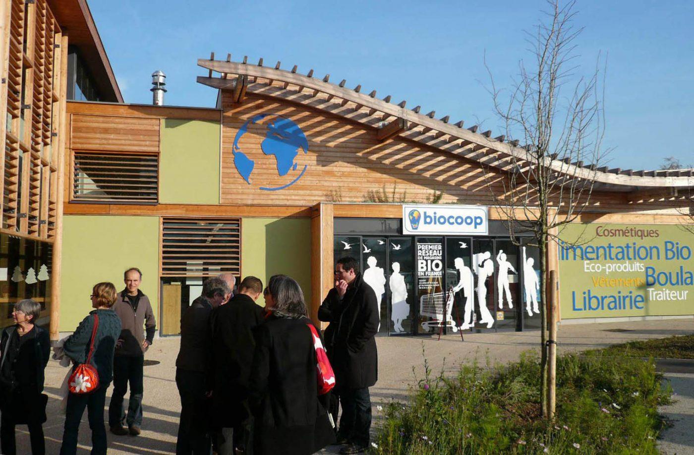 Entrée magasin Biocoop Le Mantois - Epône