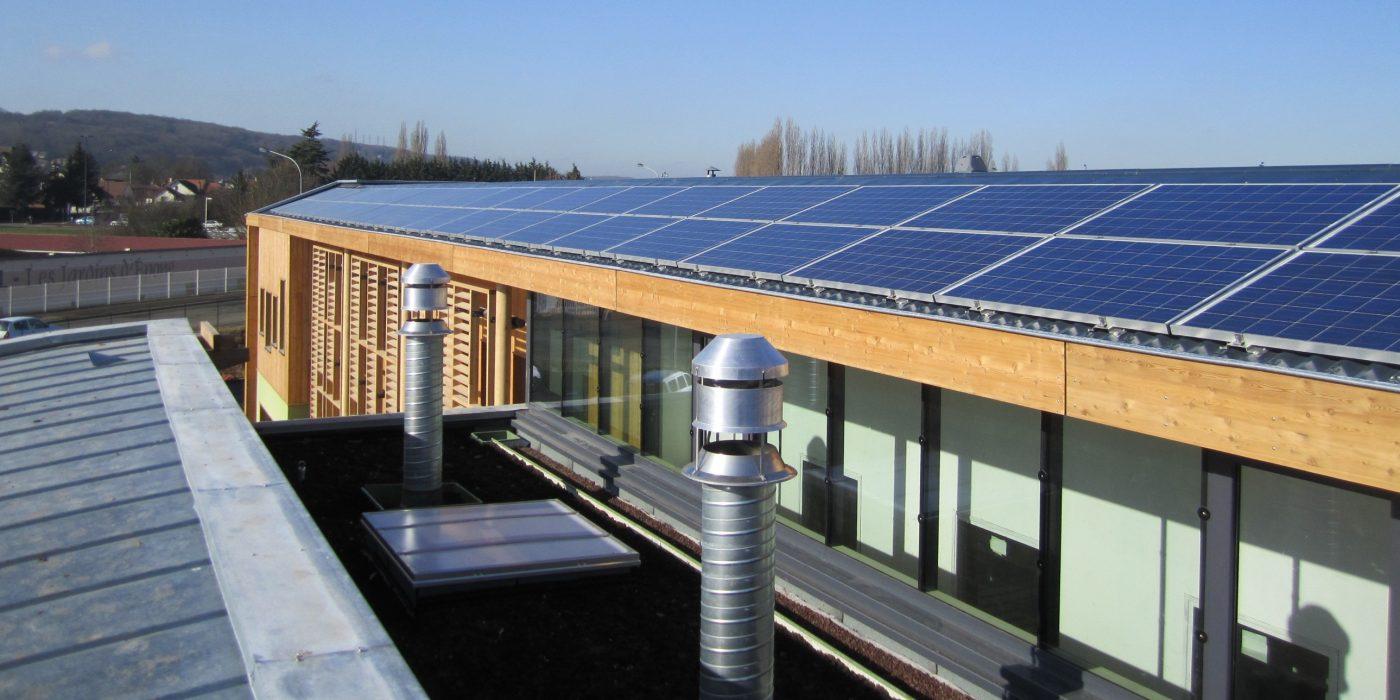 Toiture PV sur le toit de la Biocoop le Mantois - Epône