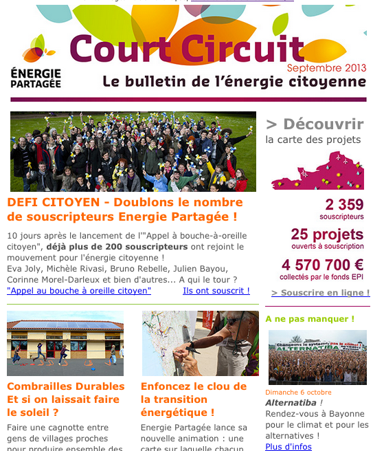Court Circuit n°11 - Septembre 2013