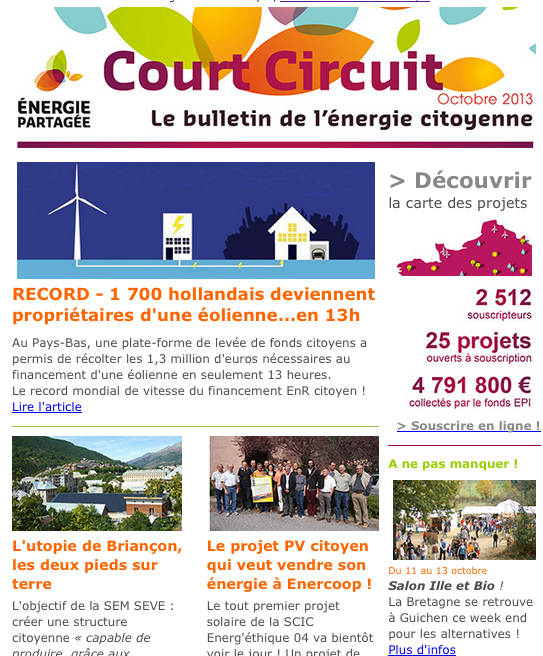 Court Circuit n°12 - Octobre 2013