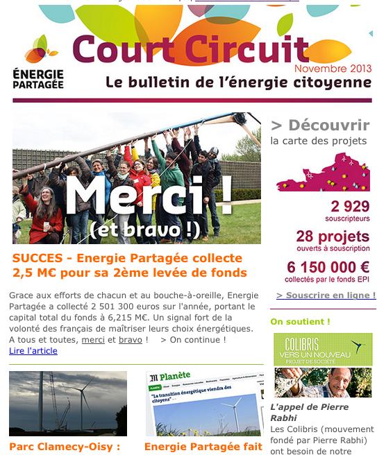 Court Circuit n°13 - Novembre 2013
