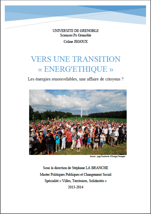 Vers une transition