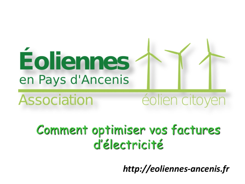 Diapo de titre de l'enquete energetique menee en 2014 par EOLA auprès de ses adhérents