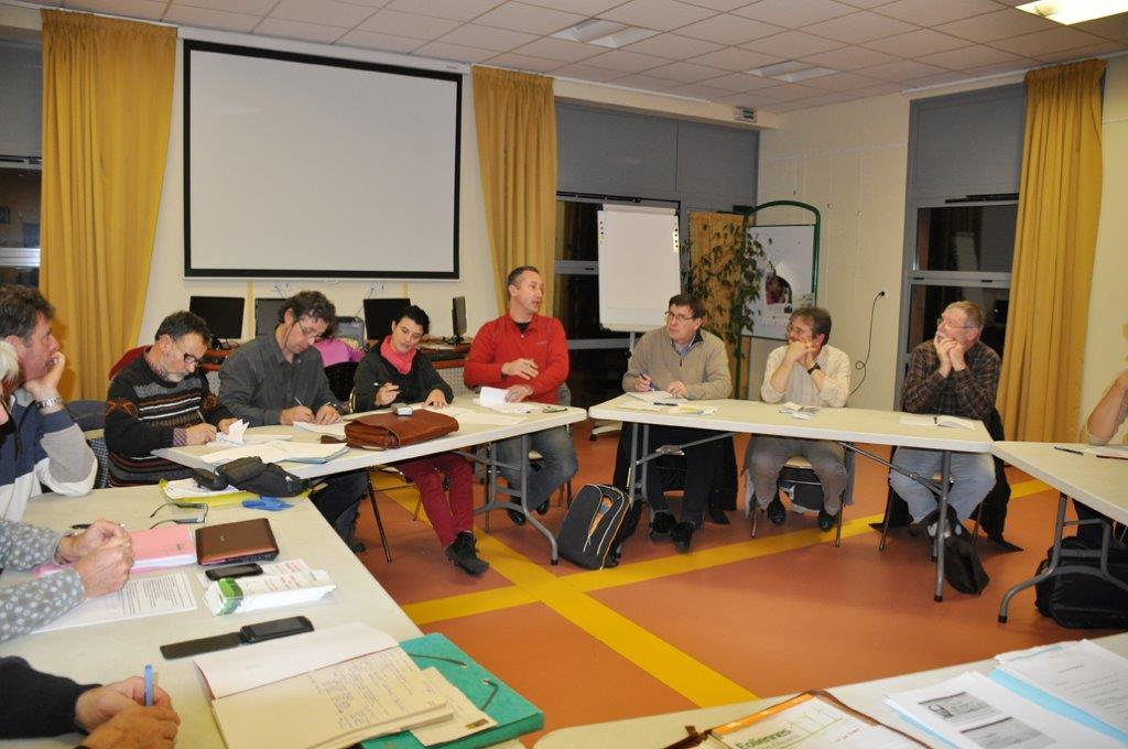 Photo : assemblee generale de creation de la SAS Eolandes