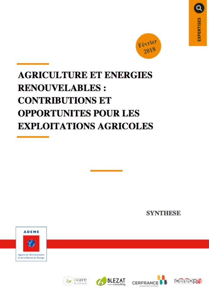 Agriculture et énergies renouvelables : contributions et opportunités pour les exploitations agricoles