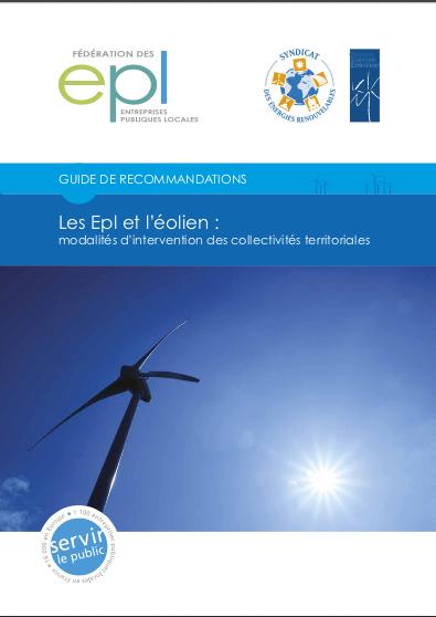 Les EPL et l'éolien : modalités d'intervention des collectivités territoriales