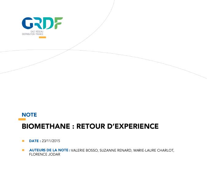 Biométhane : Retour d'expérience