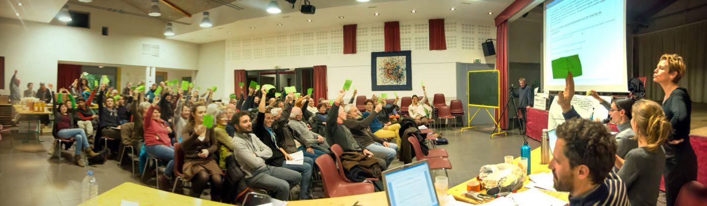 Assemblée générale constitutive de la SCIC Energies Collectives à Embrun (05)