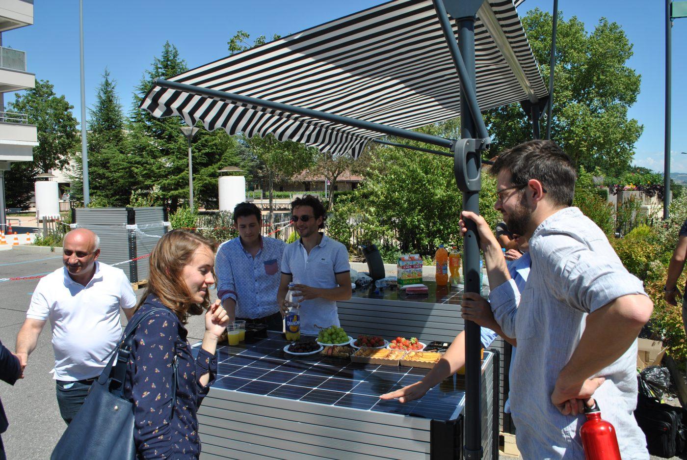 Advivo Solaire - Les partenaires du projet réunis à Vienne en 2017