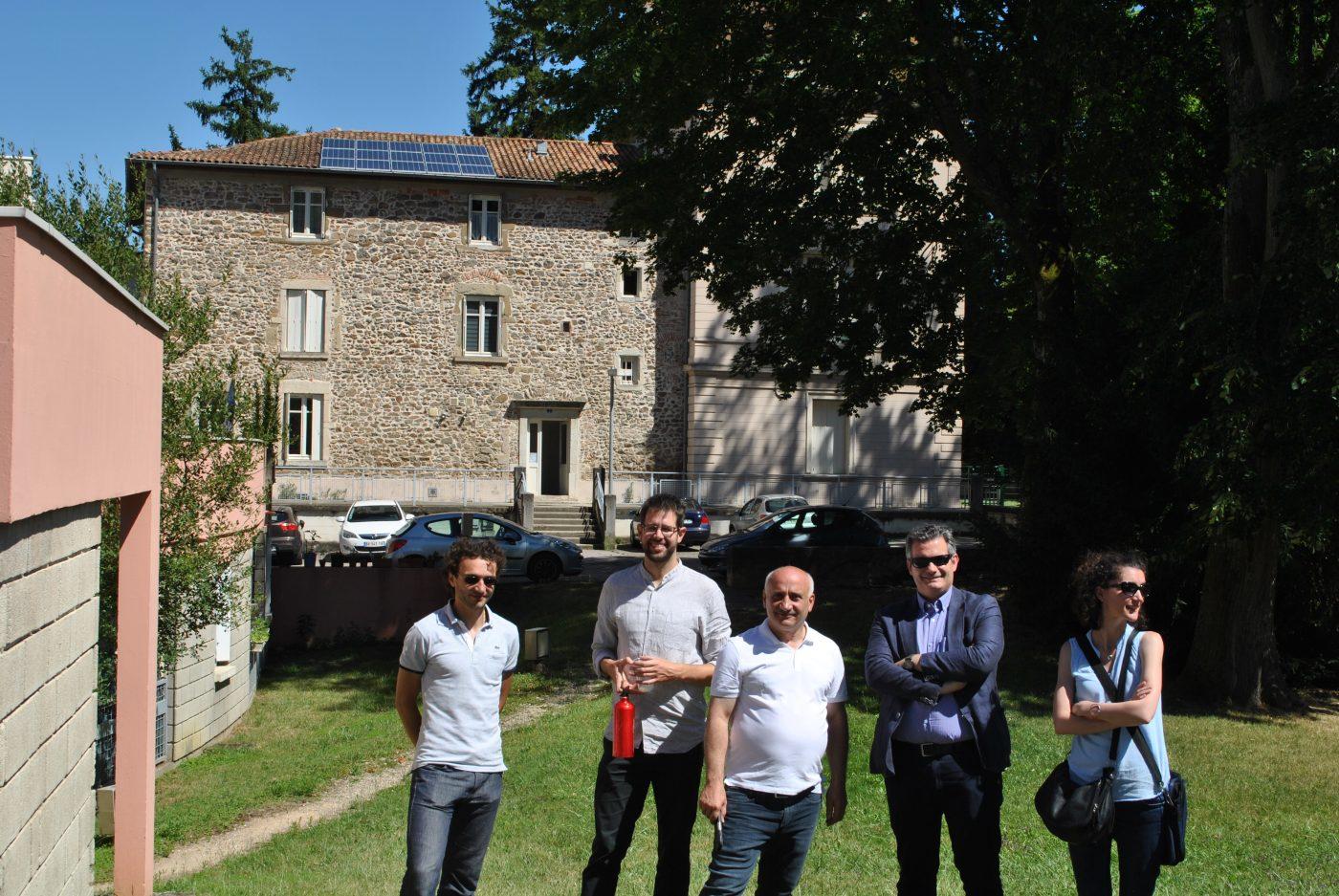 Advivo Solaire - Des membres du groupe projet