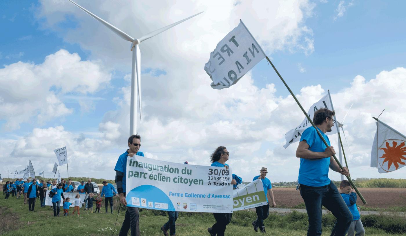 Inauguration du parc éolien d'Avessac