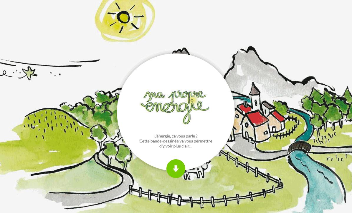 Ma Propre Énergie - la Web-BD de l'énergie citoyenne