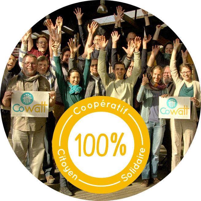 Photo : les CoWattés membres de CoWatt, le cotoiturage solaire soutenu par Energie Partagée et ECPDL