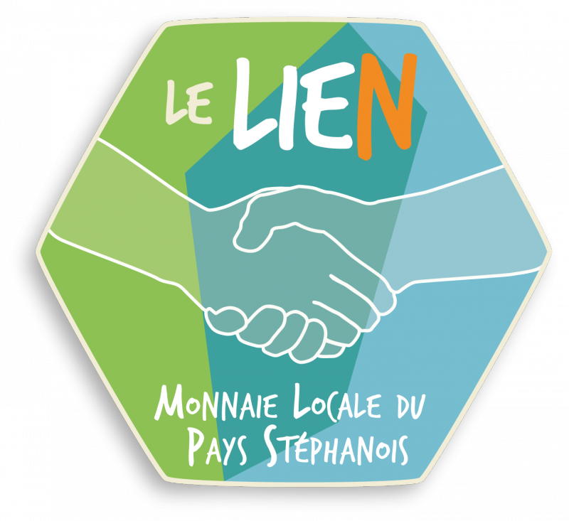 Logo du LIEN, monnaie locale stéphanoise