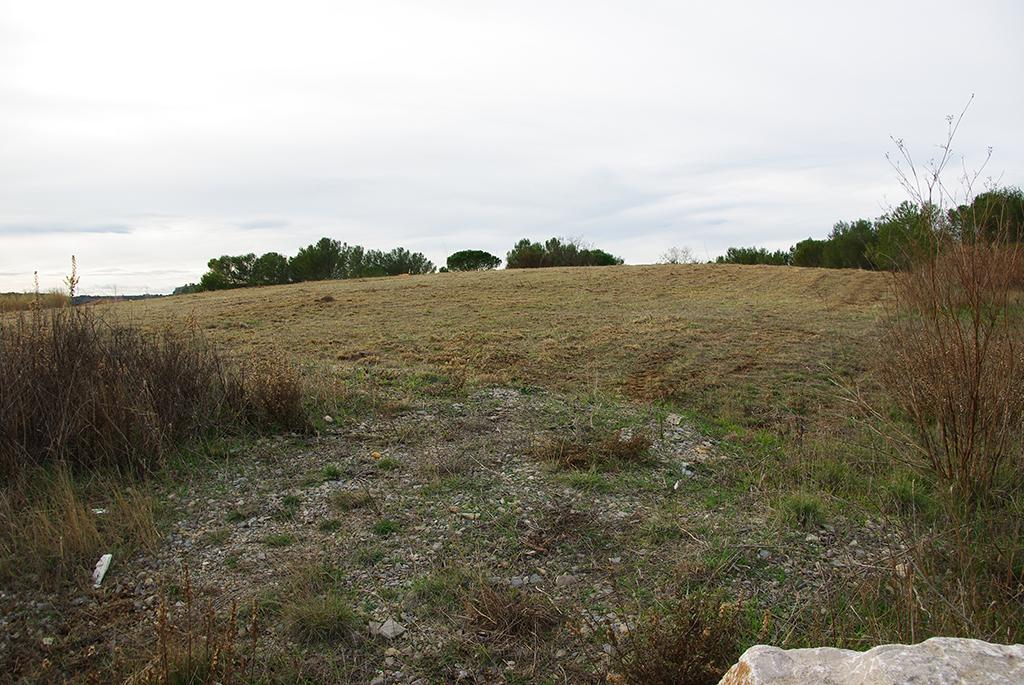 En janvier 2017, le terrain de l'ancienne décharge, comblé il y a une dizaine d'années, ressemblait encore à ça...