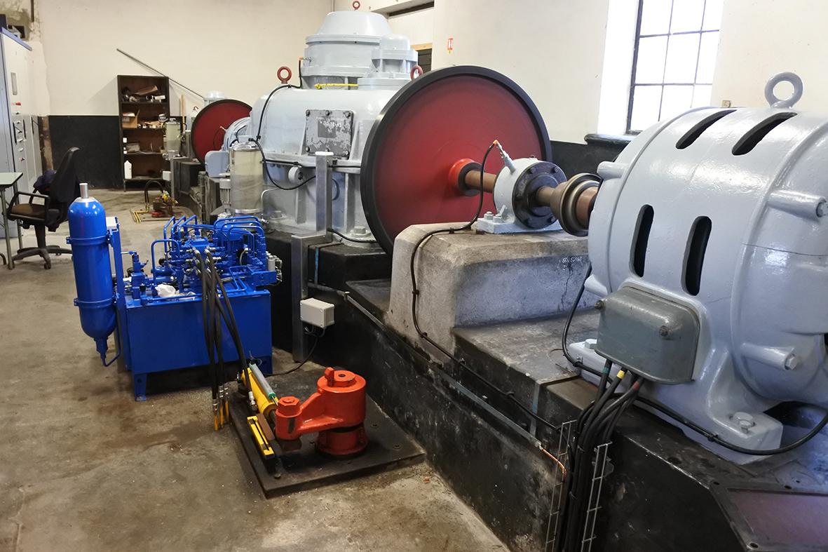 HydroEpinal comporte 3 groupes turbo-alternateurs pour produire de l'électricité renouvelable