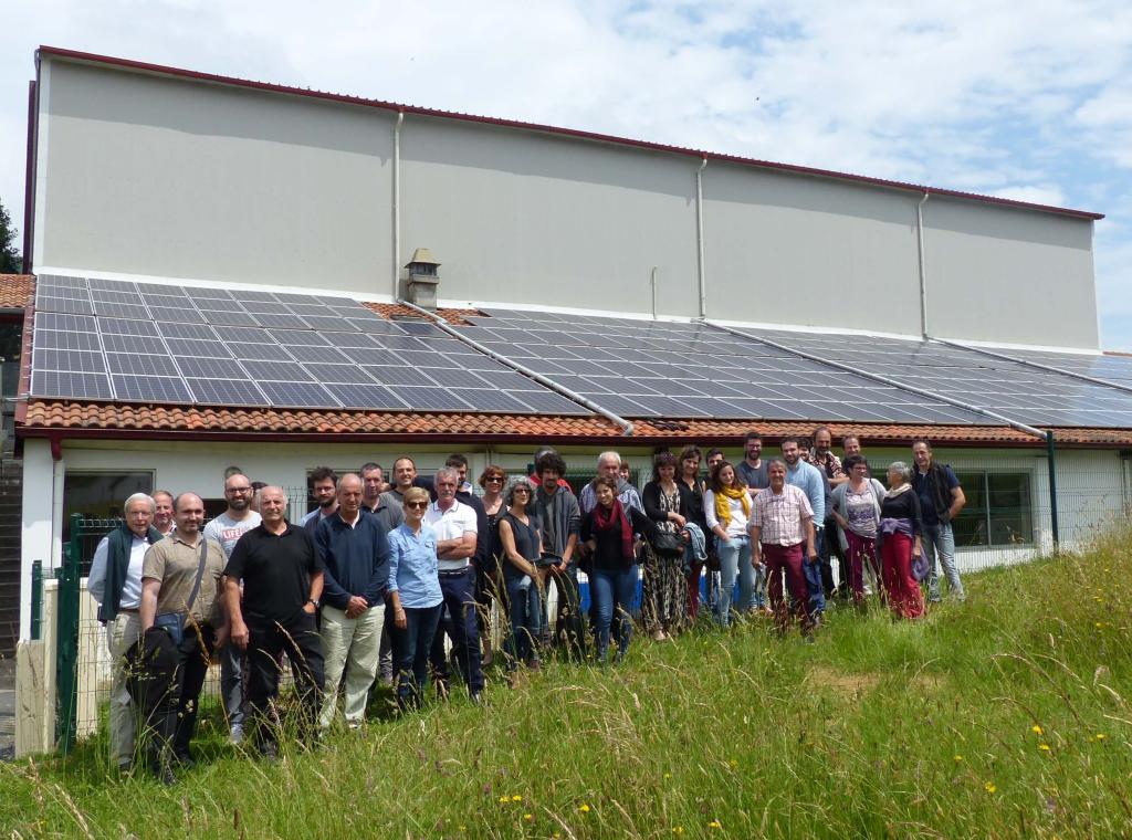 Assemblée générale des sociétaires d'I-ENER à Macaye, en juin 2018