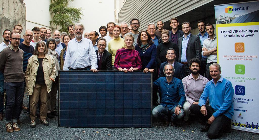 EnerCit'IF - Le collectif de citoyens a fondé sa coopérative d'énergie renouvelable le 24 septembre 2018