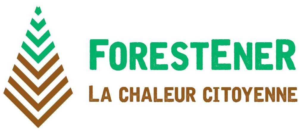 Logo ForestEner, la chaleur citoyenne