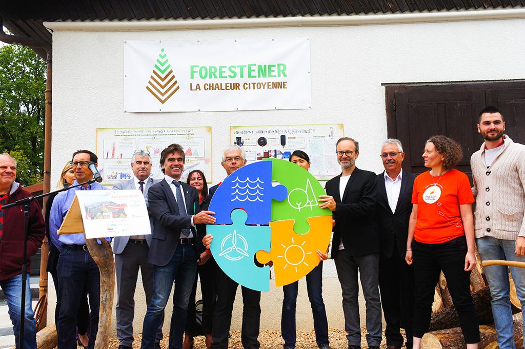 À Lucinges, les acteurs du projet ForestEner réunissent les pièces du puzzle de l'énergie citoyenne !