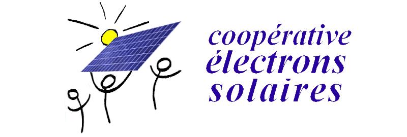 Logo de la coopérative citoyenne Électrons Solaires en Seine-Saint-Denis