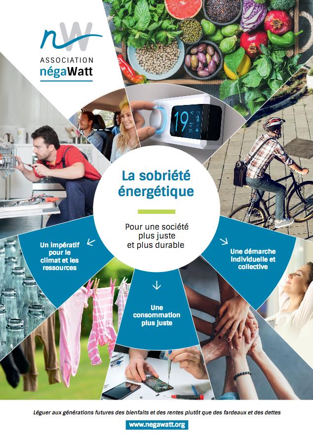 négaWatt 2018 - nouvelle publication sur la sobriété énergétique dans le scénario négaWatt