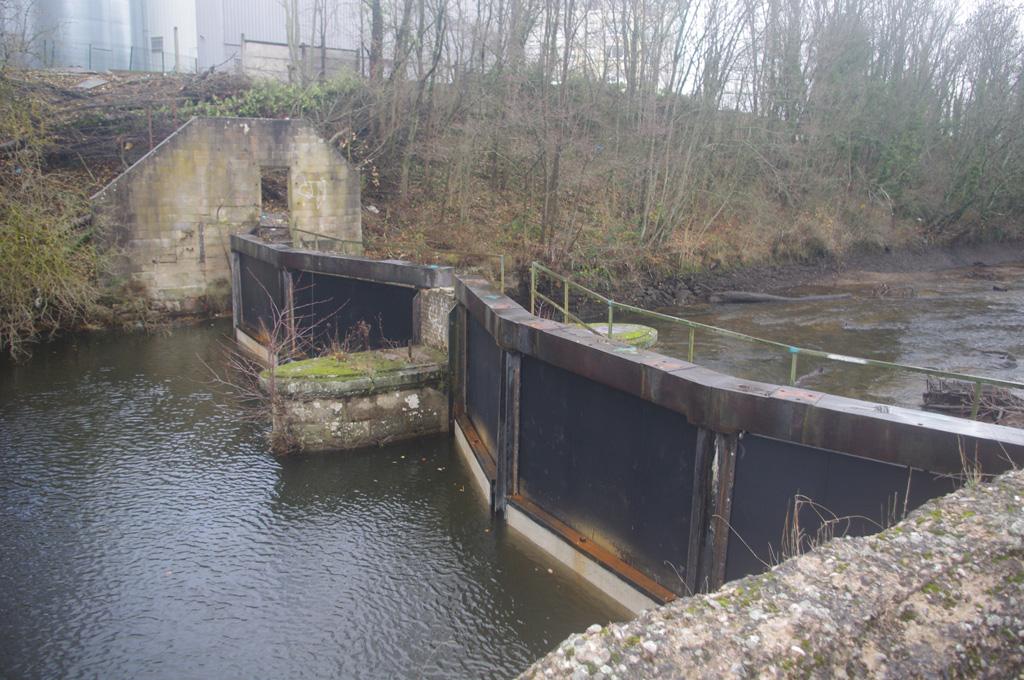 Les nouvelles vannes automatiques installées fin 2018 à l'entrée du canal d'HydroEpinal