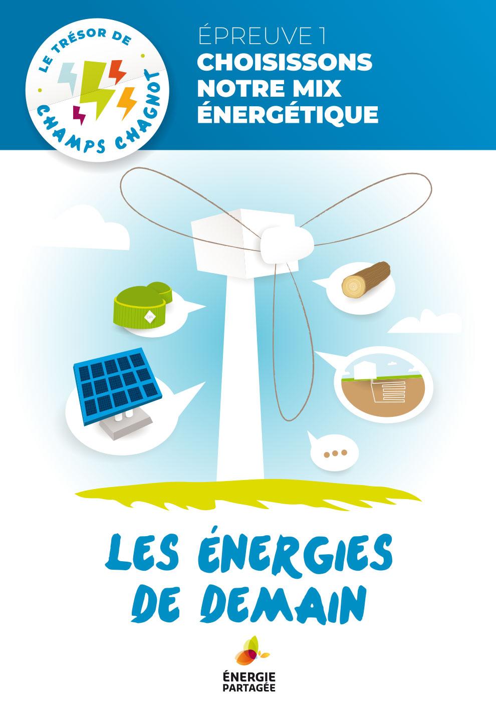 Trésor du projet éolien - Les énergies de demain