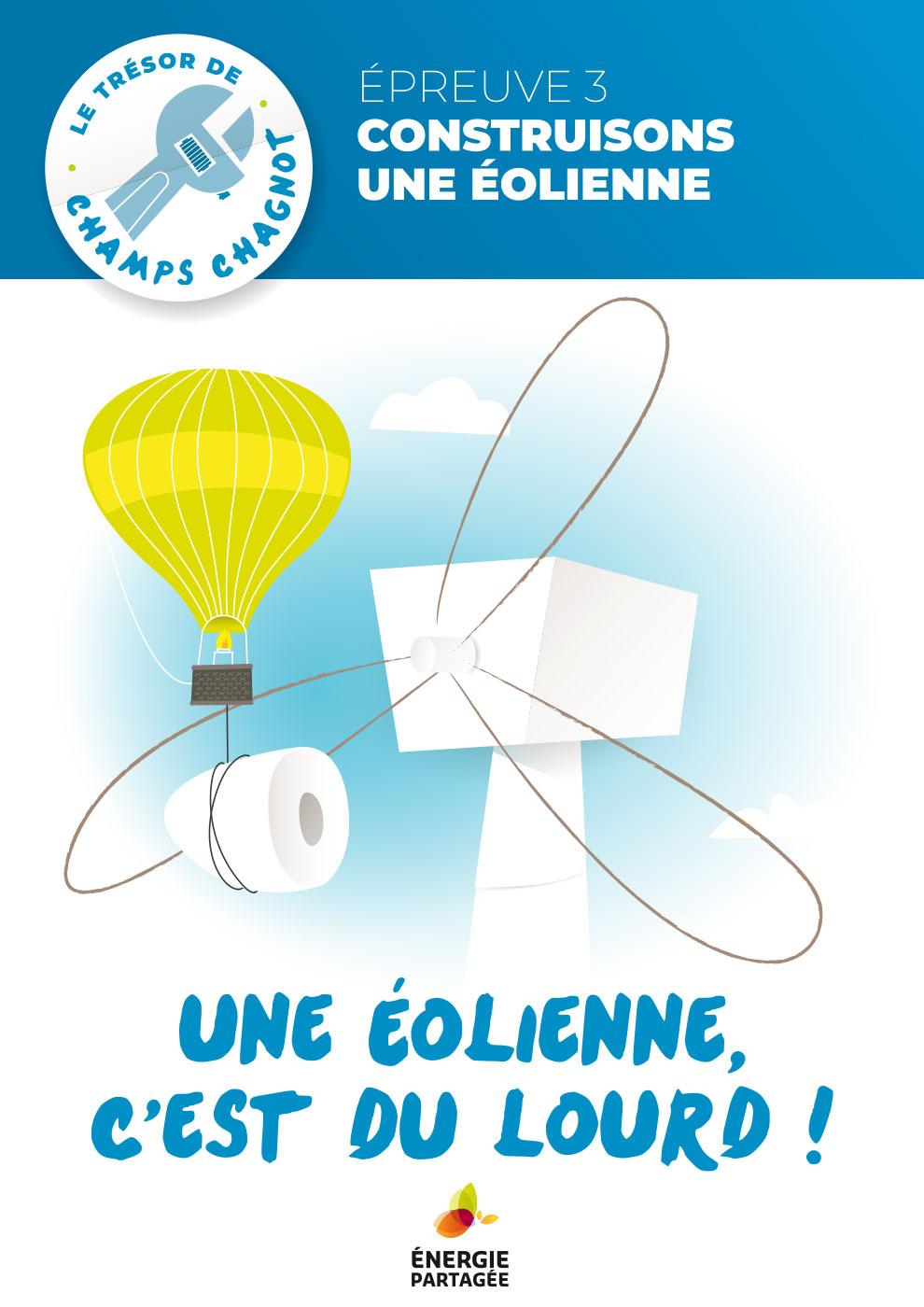 Trésor du projet éolien - Une éolienne, c'est du lourd !