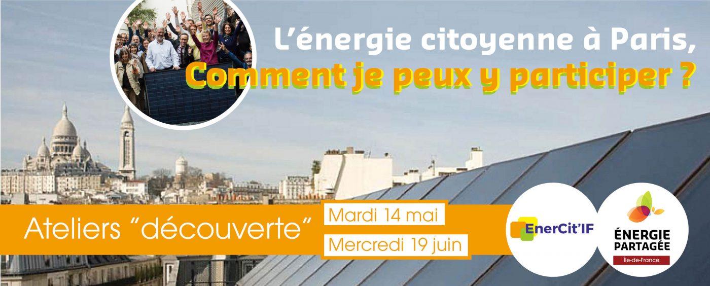 Atelier participer à l'énergie citoyenne à Paris