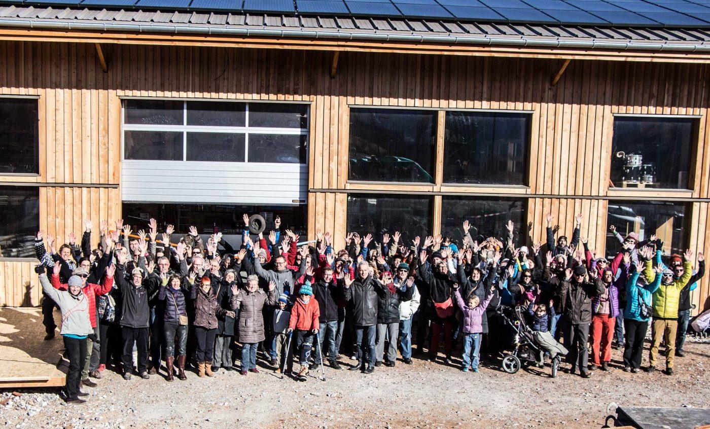 Inaugurez la nouvelle toiture solaire d'Énergies Collectives à Embrun