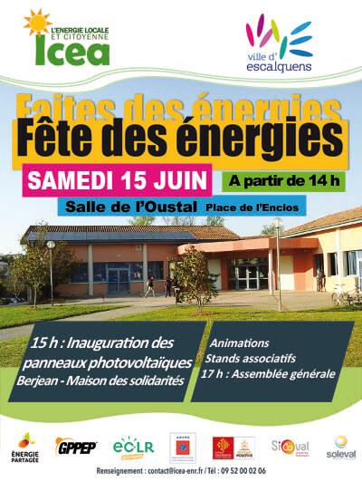 Fête des Énergies à Escalquens avec ICEA EnR