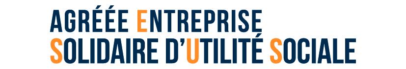 Logo Agréée entreprise solidaire d'utilité sociale
