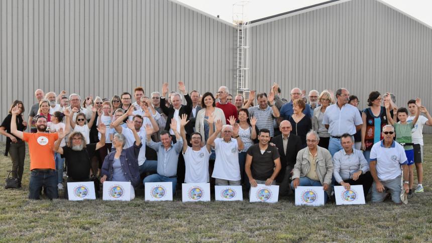 Première inauguration pour Energies Vendômoises et PICVERT SAS