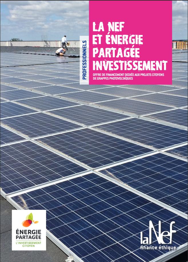 Offre de financement dédiée aux projets citoyens de grappes solaires