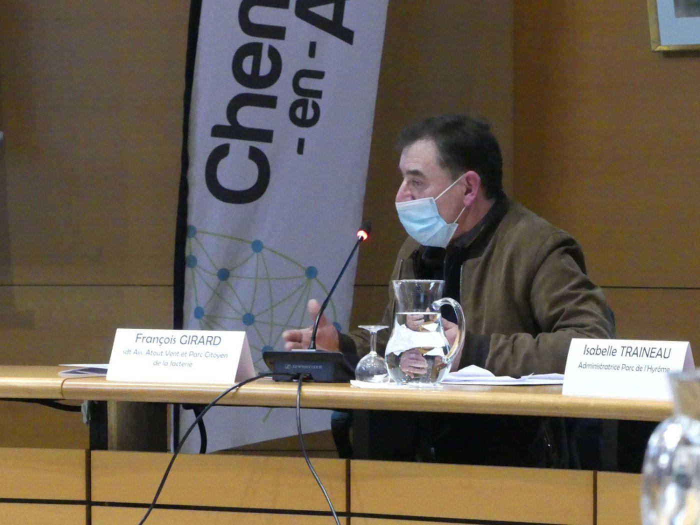 François Girard, président de l'association Atout Vent, interpelle la ministre de la transition écologique.